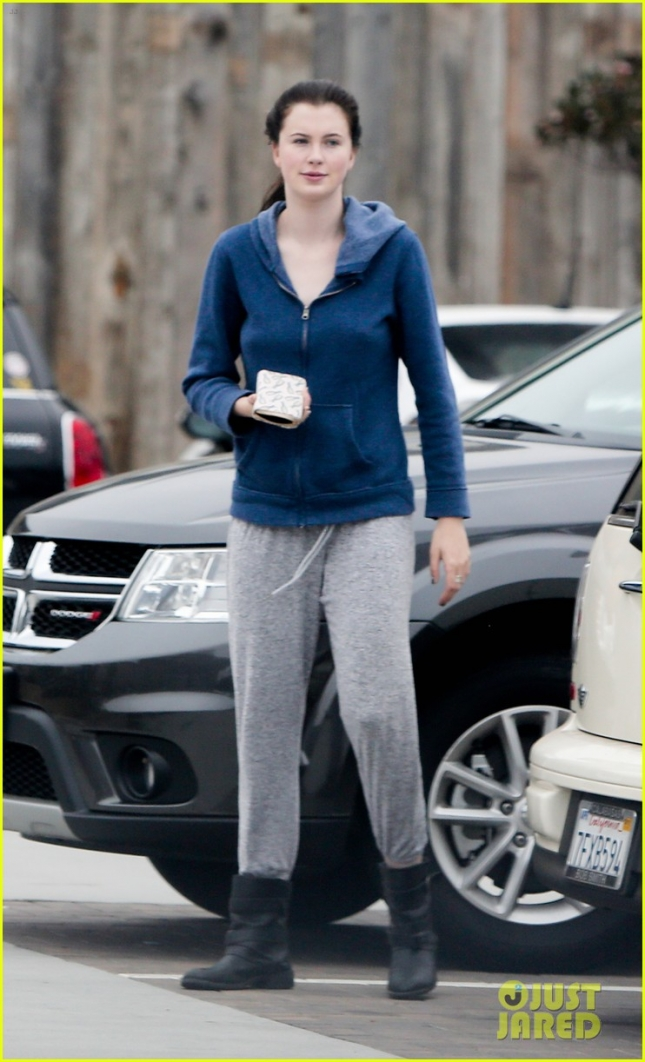 Ireland Baldwin Gets Coffee with a Friend