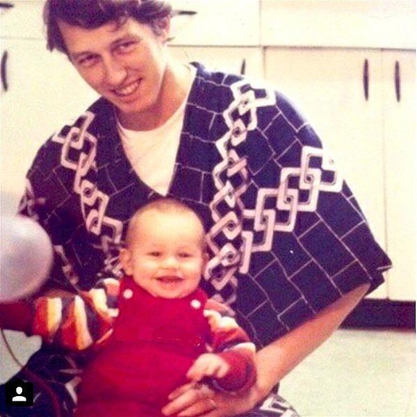 Джеймс Франко и его отец Дуглас