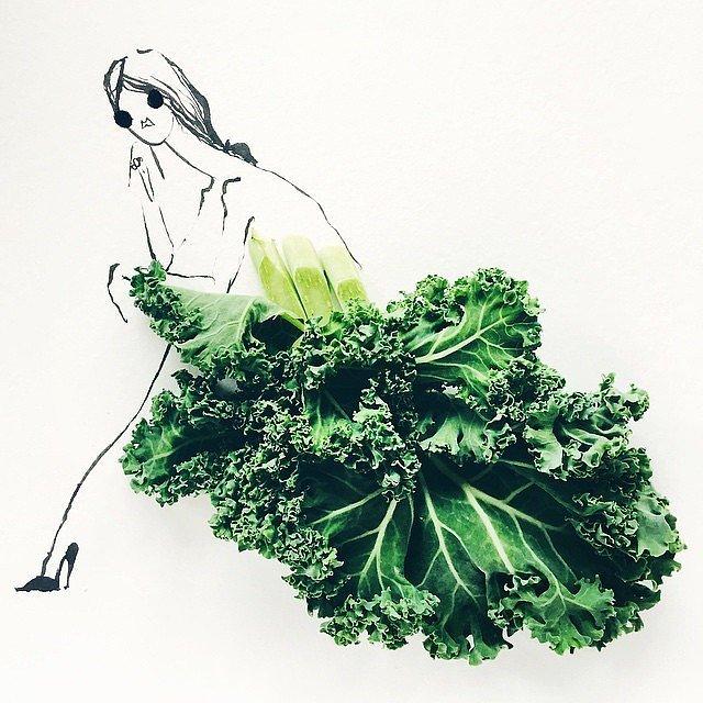 капуста кале годится не только для салата