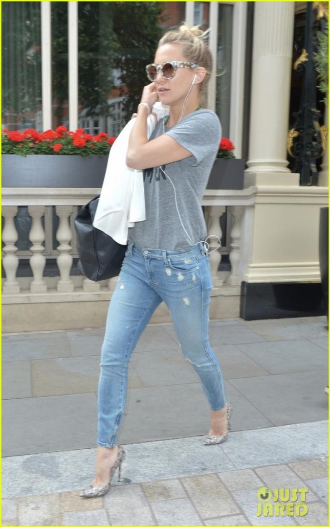 Кейт Хадсон в Лондоне