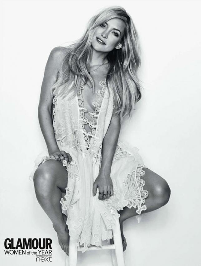 Кейт Хадсон для Glamour UK, июль 2015