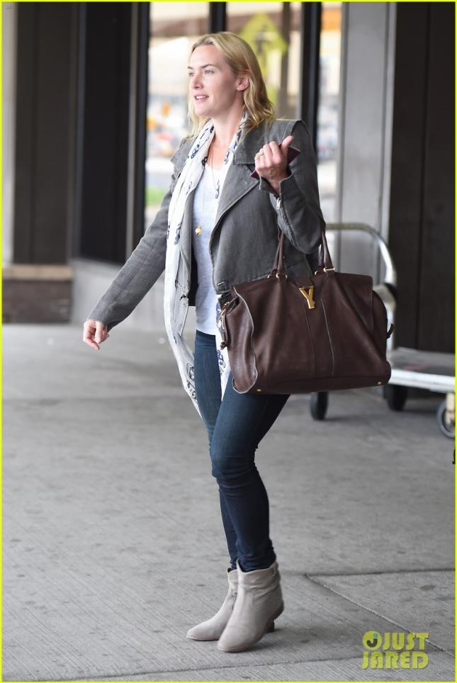 Кейт Уинслет в Нью-Йорке