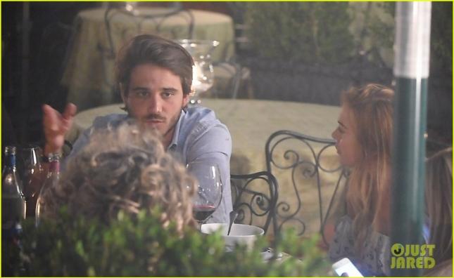 Линдси Лохан и её (по слухам) молодой человек Мэттью Милани