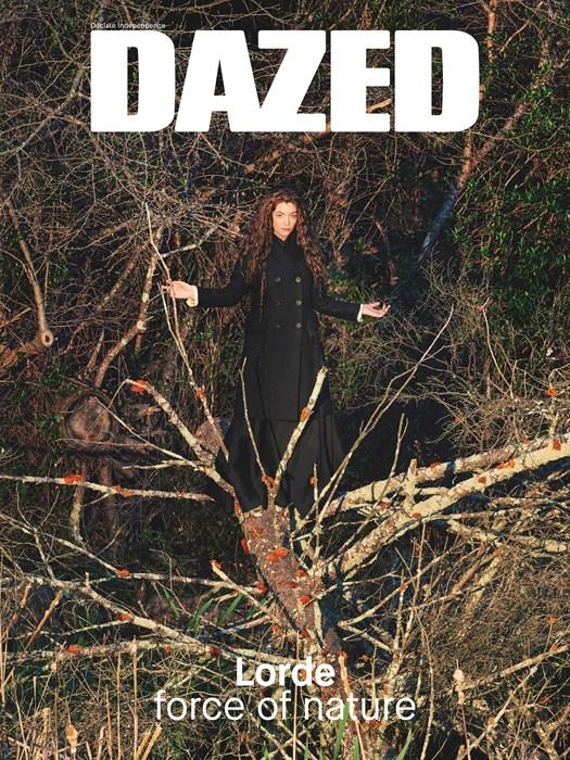 Лорд на обложке Dazed лето 2015