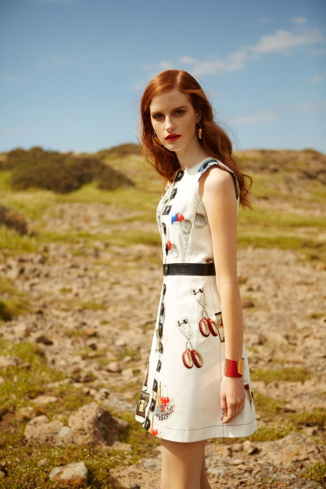 Магдалена Ясек для Harper's Bazaar Турция, июнь 2015