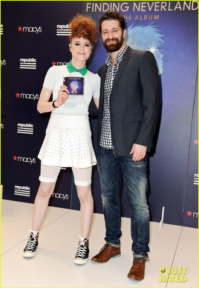 Matthew Morrison And Kiesza Visit Macy's Herald Square