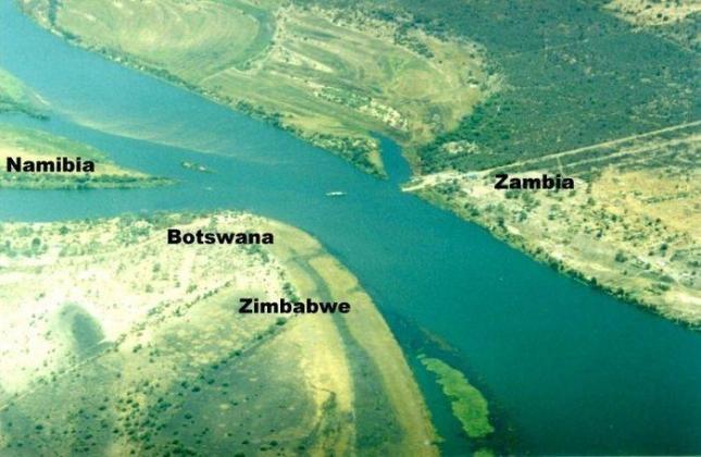 Намибия, Ботсвана, Замбия и Зимбабве