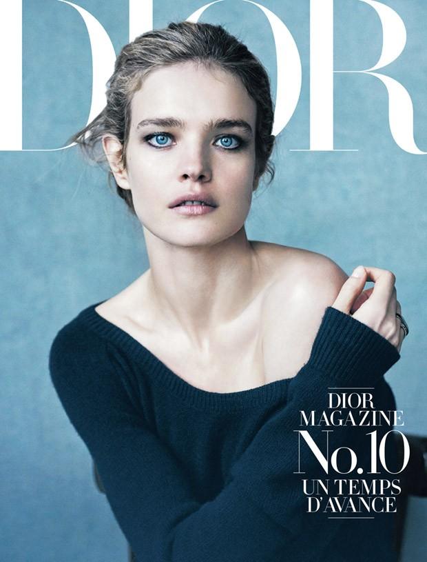 Наталья Водянова на обложке Dior Magazine