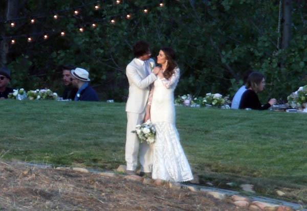 Свадебные фото Никки Рид и Йен Сомерхолдера