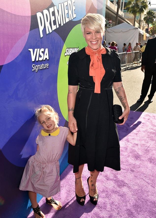 Пинк с дочерью Уиллоу