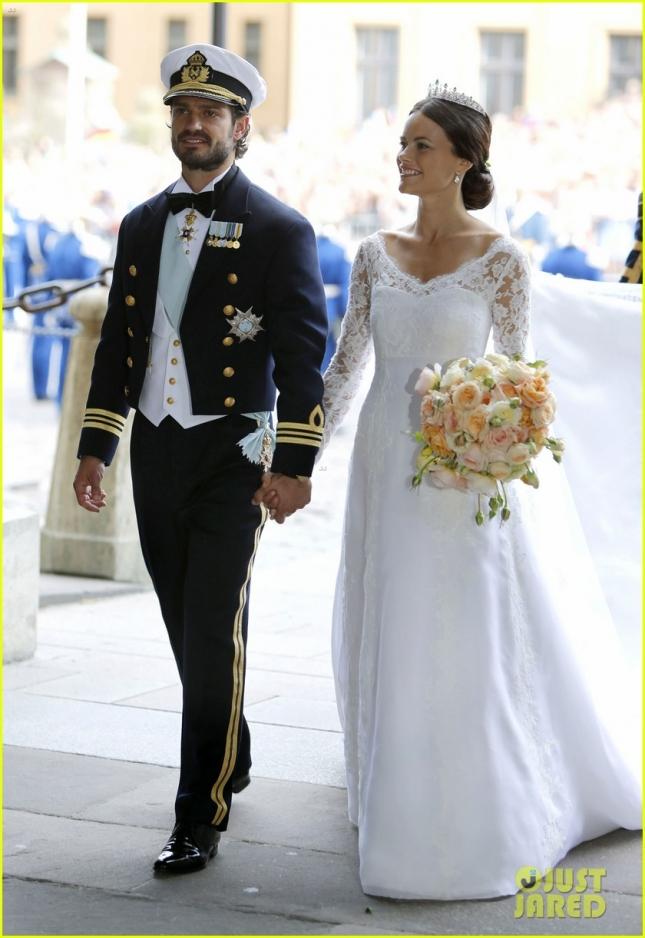 """Шведский принц Карл Филип женился на Софии Хеллквист - участнице шведского аналога нашего """"Дома 2"""""""