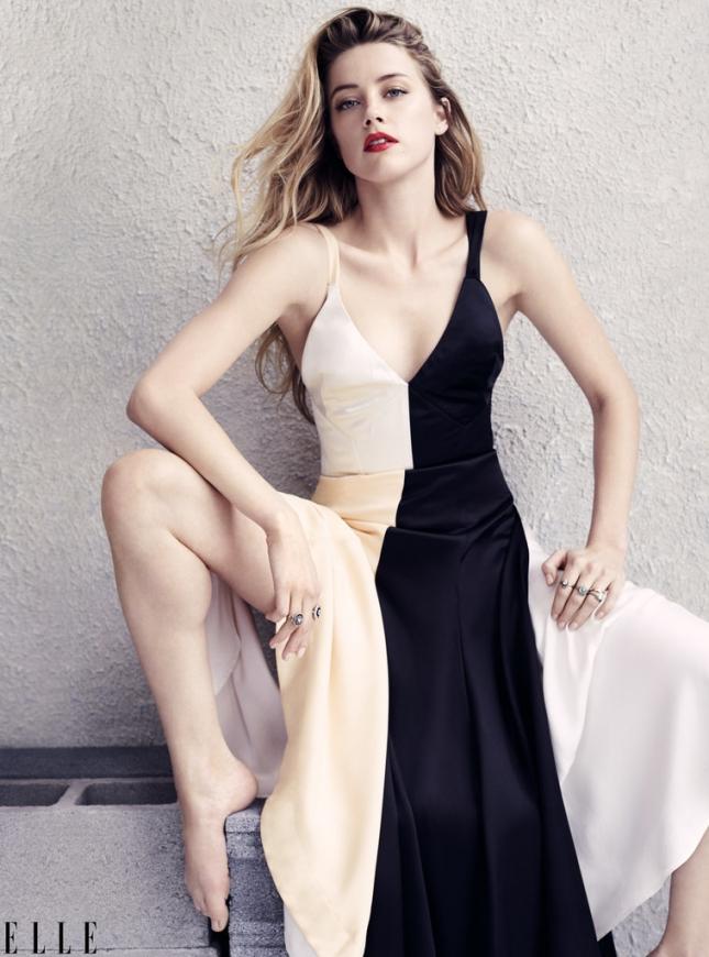 Эмбер Хёрд для Elle США, июль 2015