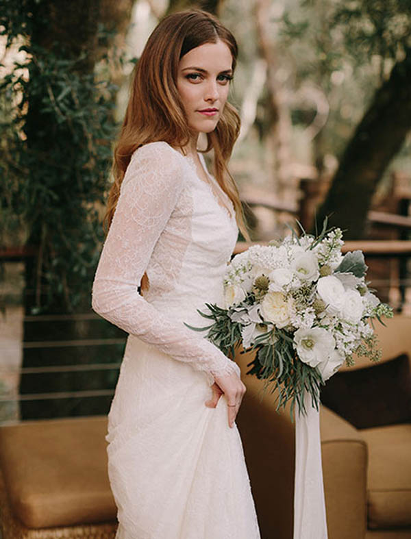 свадебное платье Райли Кио
