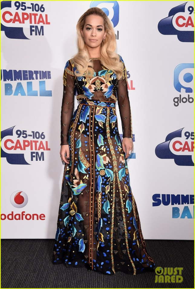 Stars shine at the Capital FM Summertime Ball **USA ONLY**