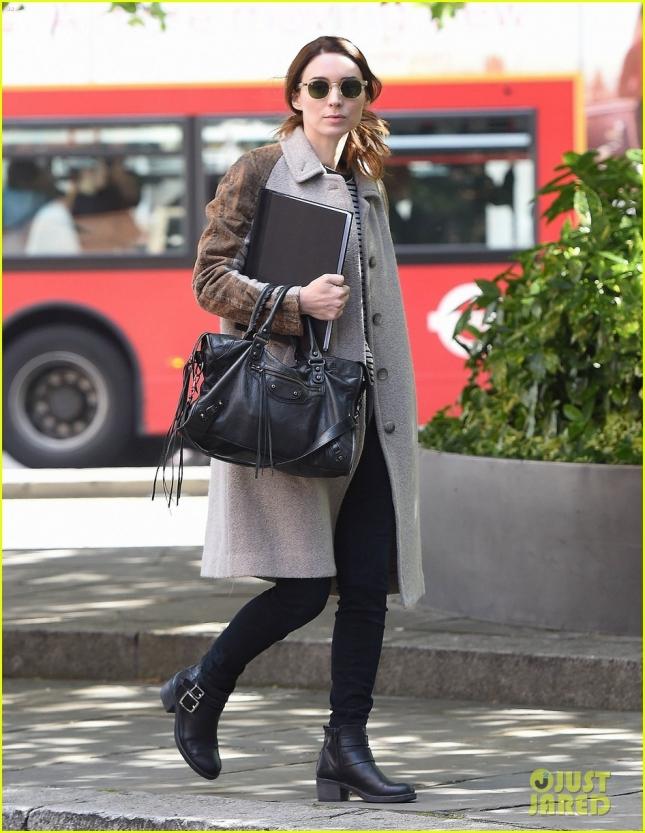 Руни Мара в Лондоне