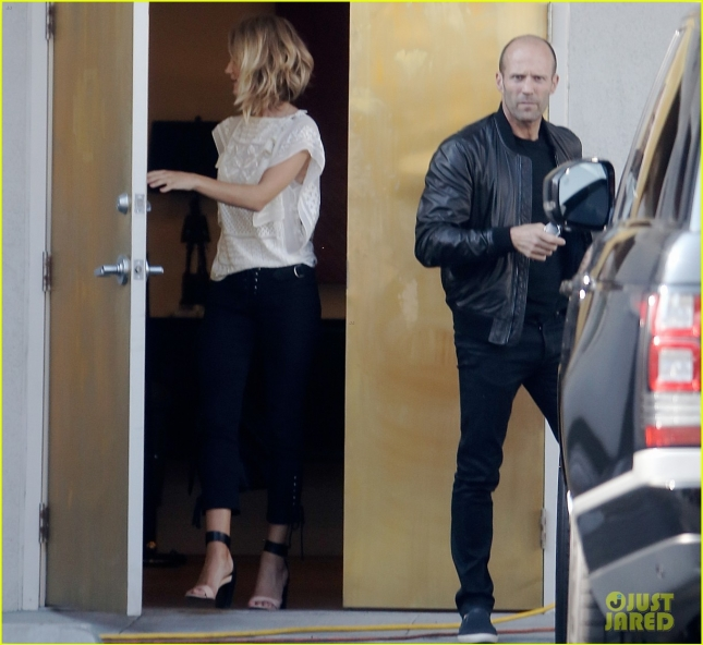 Jason Statham and Rosie Huntington-Whiteley Furniture Shopping