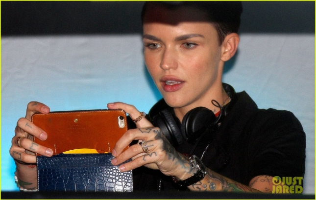 Ruby Rose DJs at Teaze NYC Pride 2015 Event