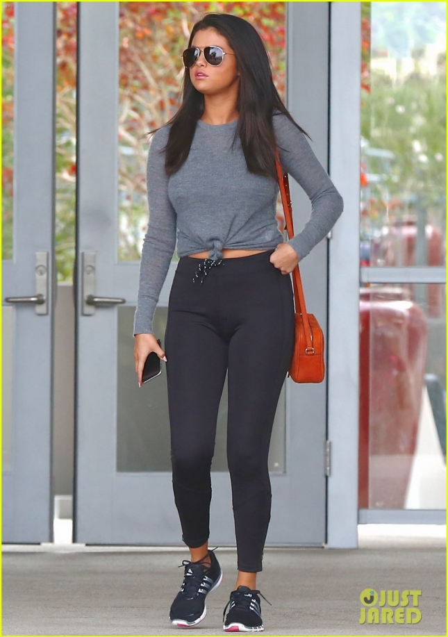 Селена Гомез в Лос-Анджелесе