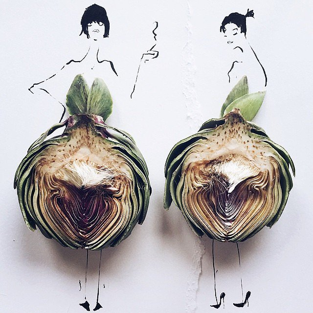 Оригинальный способ носить овощи
