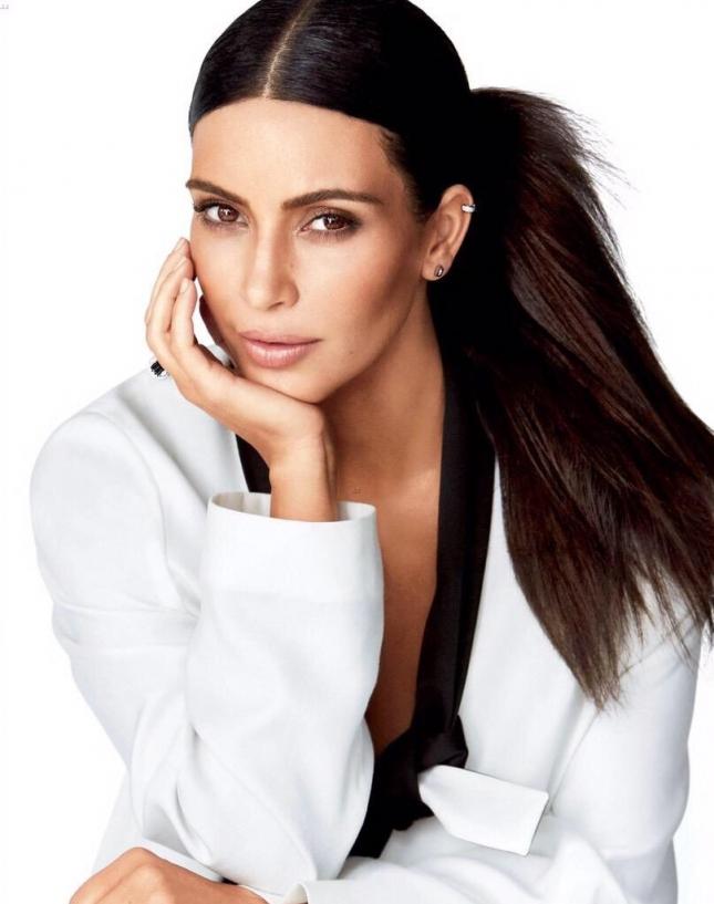 Ким Кардашьян для Glamour US, июль 2015