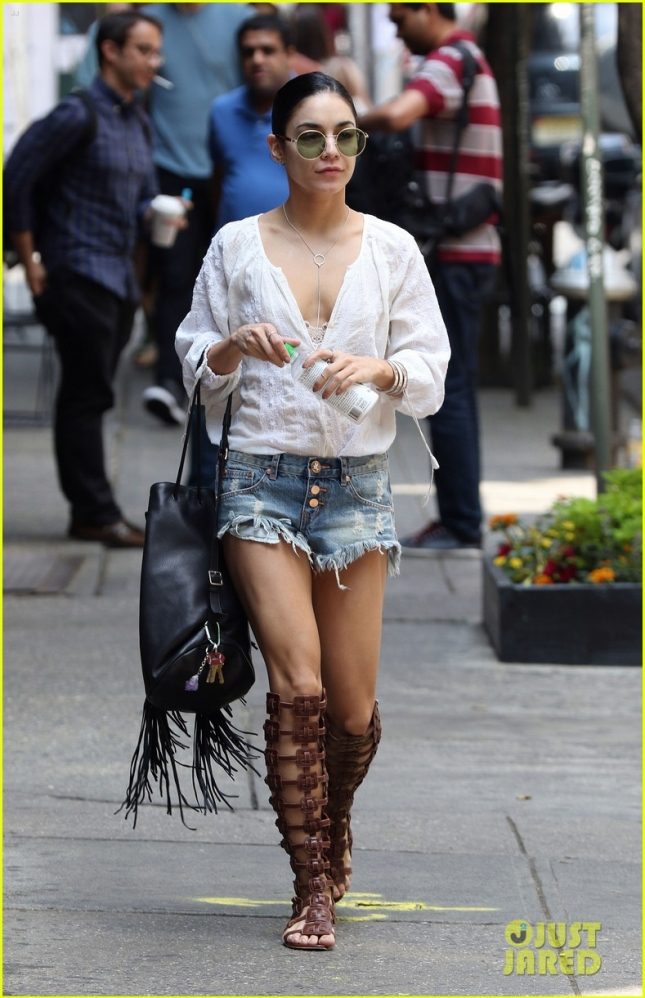 Vanessa Hudgens Gets Trendy