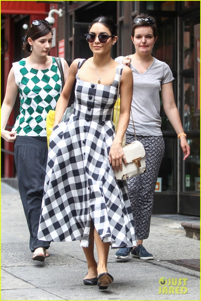 Broadway star Vanessa Hudgens runs a few errands on Father's Day
