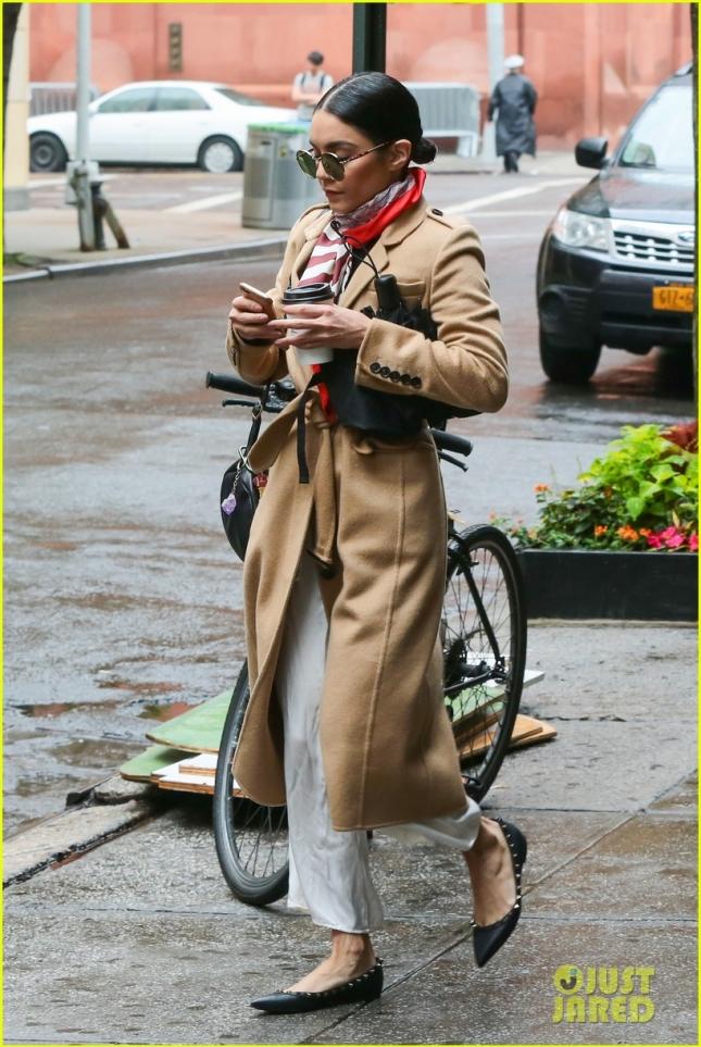 Ванесса Хадженс в Нью-Йорке