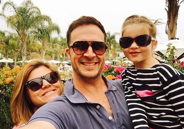 Тиффани с мужем и дочкой, 2015 год, фото из Instagram актрисы