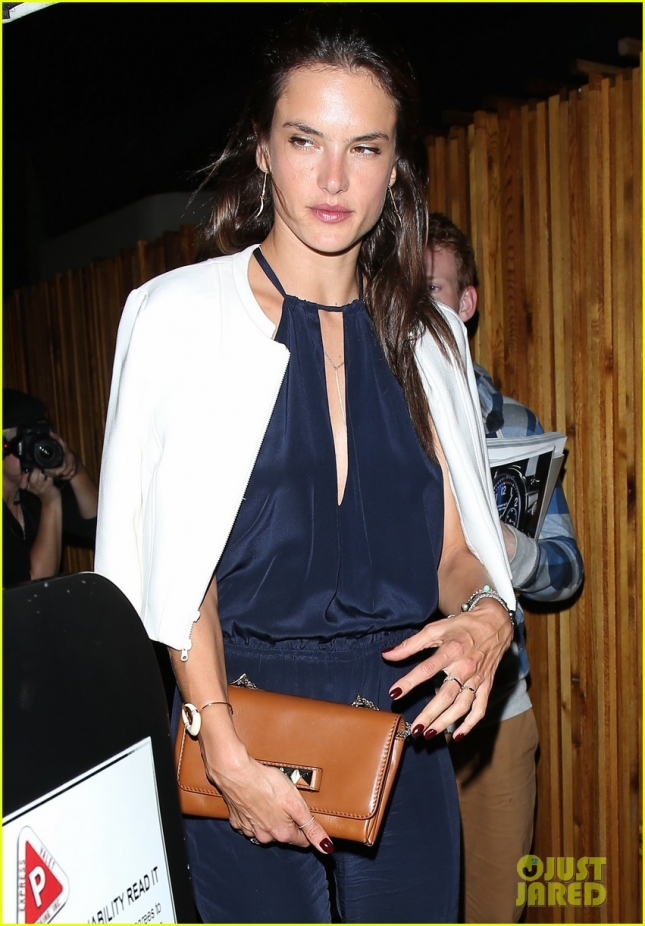 Alessandra Ambrosio attends Paper Towns after-party