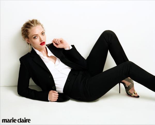 Аманда Сайфред для Marie Claire UK, август 2015