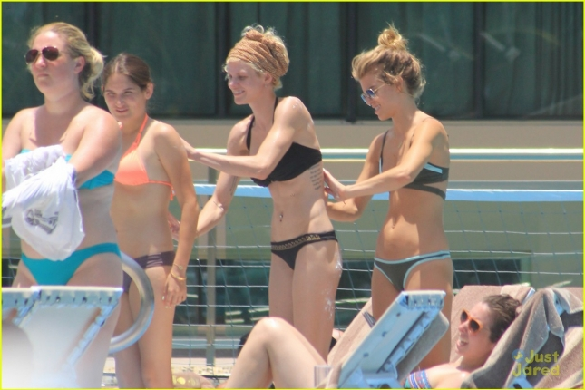 *EXCLUSIVE* AnnaLynne McCord shows off a killer bikini body as she celebrates 28th birthday