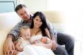 Хилария и Алек Болдуин с детьми