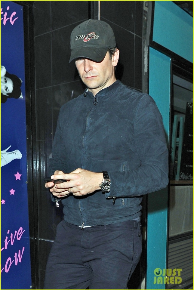 *EXCLUSIVE* An exhausted Bradley Cooper looks a bit disheveled at The  Box Club **USA ONLY**