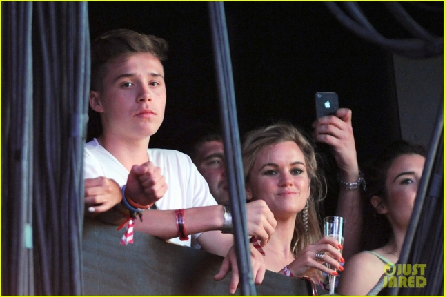 Brooklyn Beckham attends the Wireless Festival 2015 **USA ONLY**