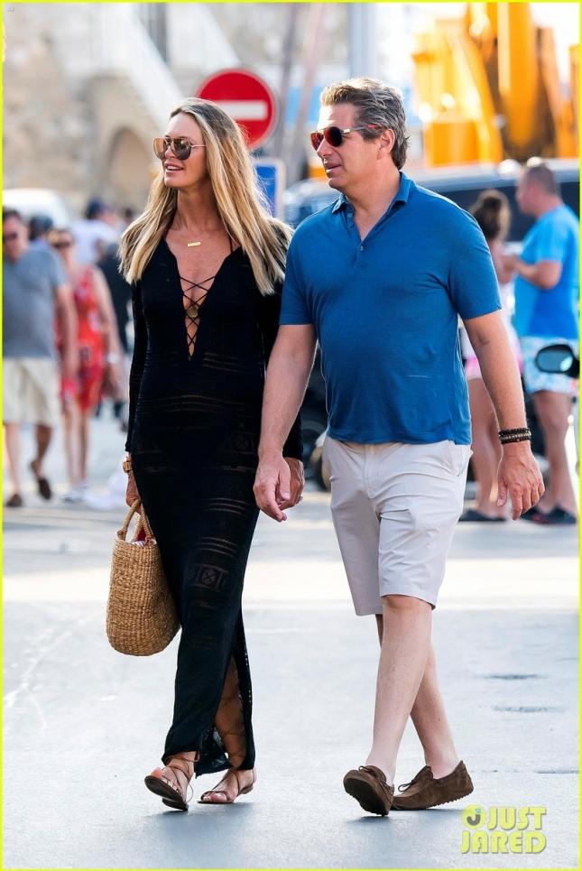 Эль Макферсон с мужем