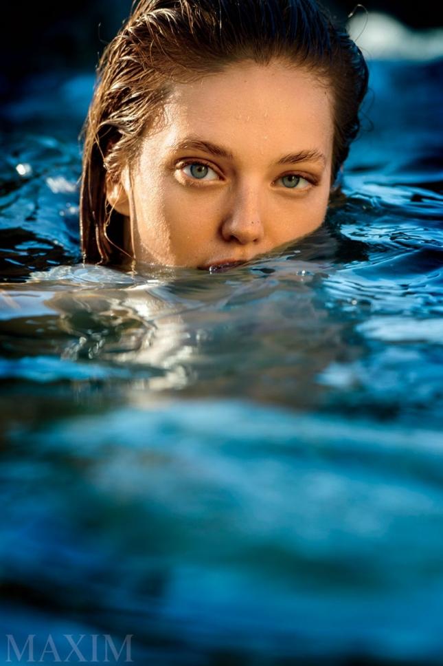 Эмили ДиДонато для Maxim, август 2015