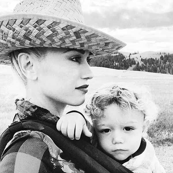 Gwen-Stefani-Son-Apollo-Montana-Instagram-Photos
