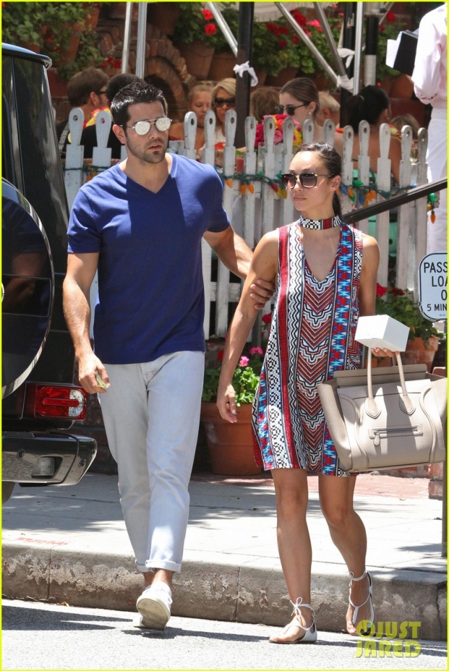 jesse-metcalfe-cara-santana-lunch-the-ivy-02