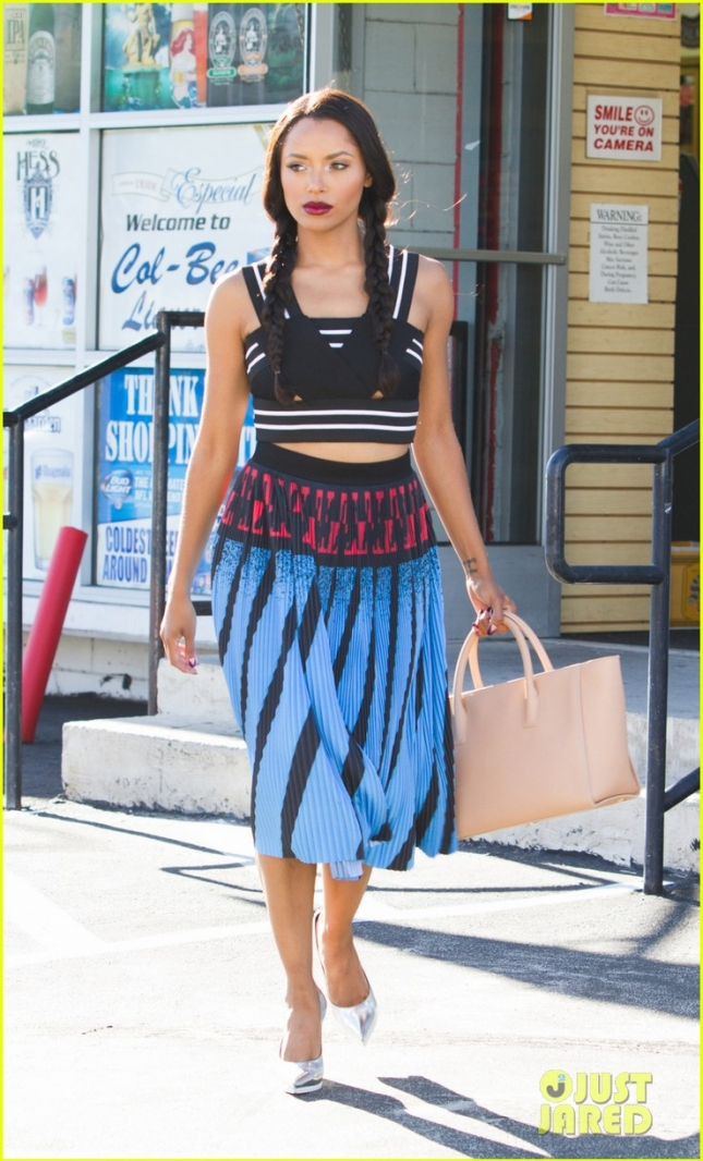 EXCLUSIVE: Kat Graham spotted out and about in LA