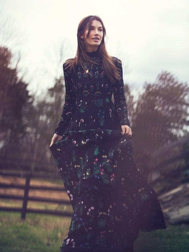 Лили Олдридж для Vogue Турция, июль 2015