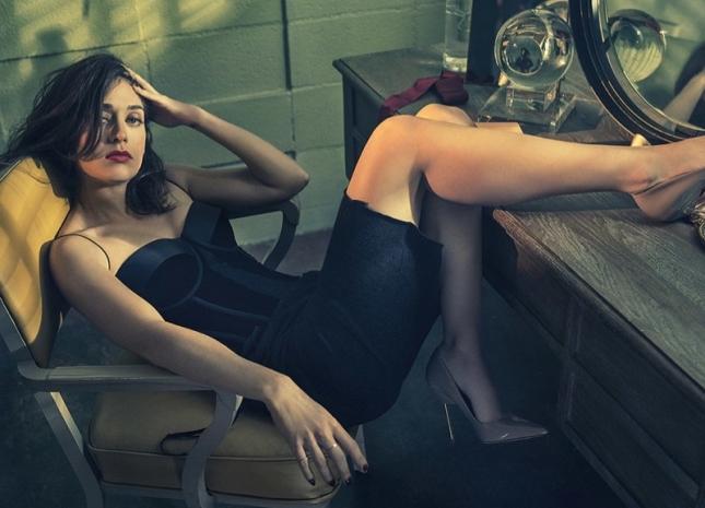 Лиззи Каплан в фотосессии для Playboy, июль 2015