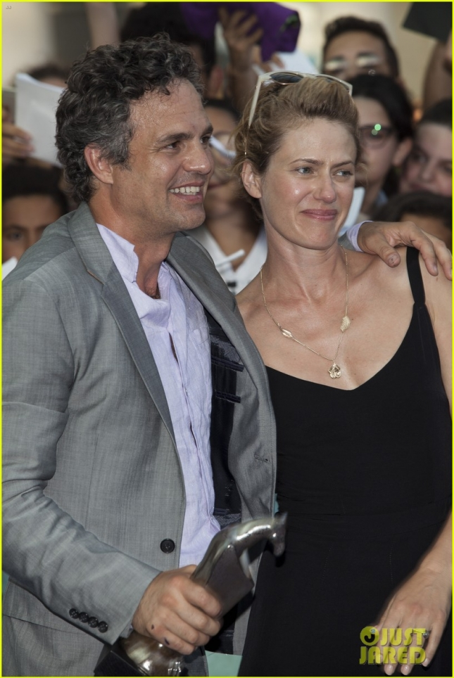 Mark Ruffalo attends a photocall for the 45th Giffoni Film Festival 2015
