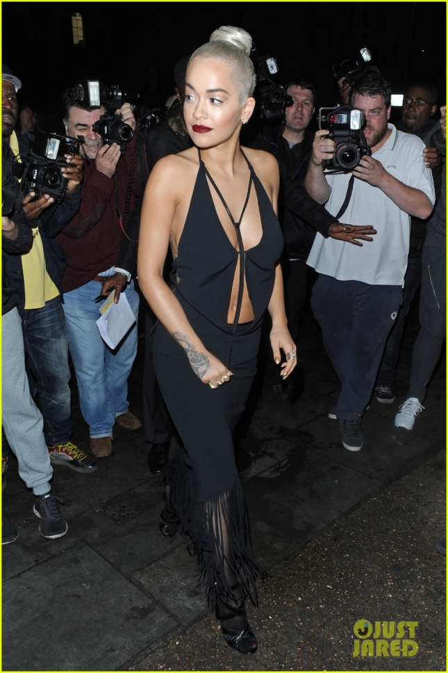 All eyes are on Rita Ora at the Sony Music VIP Summer Party - Part 2 **USA ONLY**