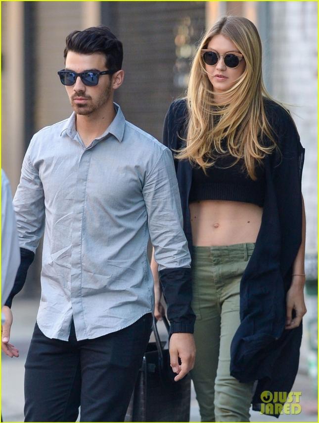 Joe Jonas & Gigi Hadid Head To The Taylor Swift Concert