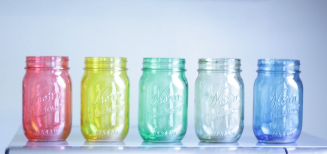 things-brides-love-mason-jar-wedding-reception-decor-centerpieces-rainbow.original