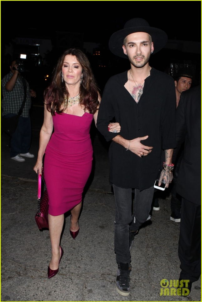 Bill Kaulitz and Lisa Vanderpump enjoy a celebratory night at Sur Lounge - Part 2