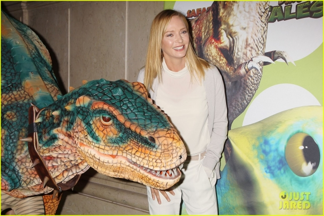 Uma Thurman and Kuato Studios Takeover the American Museum of Natural History to Launch Dino Tales and Safari Tales