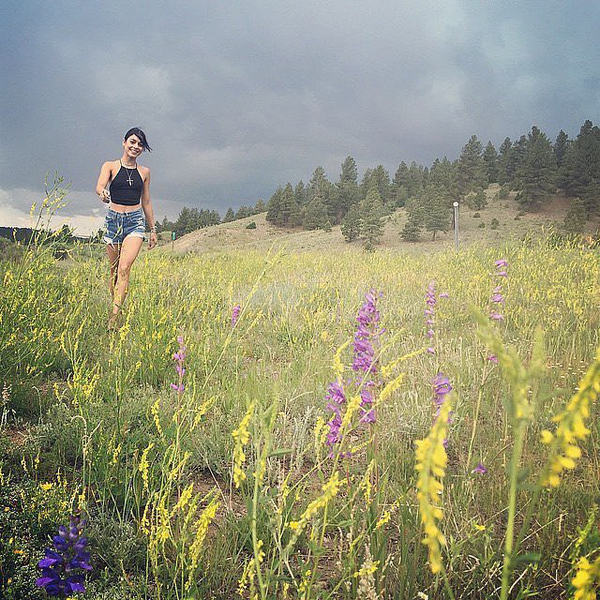 Vanessa-Hudgens-frolicked-gorgeous-field-full-flowers-July