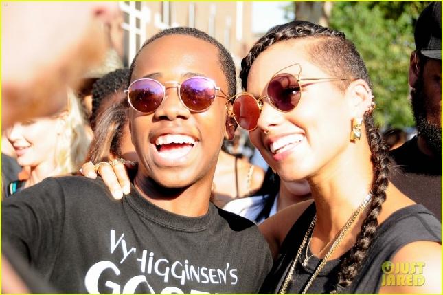 Alicia Keys attends Harlem Week 2015 in NY