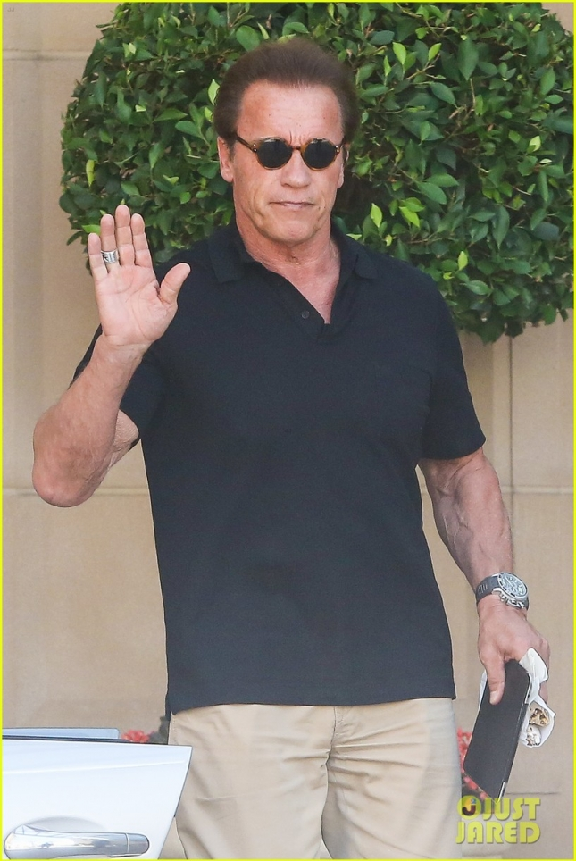 Arnold Schwarzenegger turns 68 and celebrates with ex wife Maria Shriver
